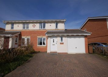 Thumbnail 3 bed semi-detached house to rent in Woodlea, Forest Hall, Newcastle Upon Tyne