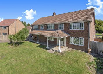 Thumbnail 5 bedroom detached house for sale in New Dale House, Hull Road, Hemingbrough, Selby