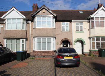 Thumbnail 3 bed terraced house for sale in Grenville Avenue, Stoke, Coventry