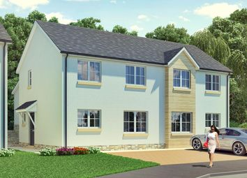 Thumbnail 3 bed semi-detached house for sale in The Johnson, Hayfield Brae, G S Brown Construction, Methven