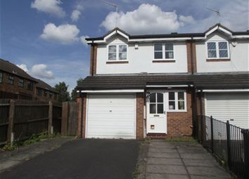 Thumbnail 3 bed semi-detached house to rent in Heron Drive, Lenton, Nottingham
