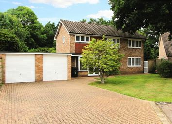 Thumbnail 4 bed detached house for sale in Gorselands Close, West Byfleet