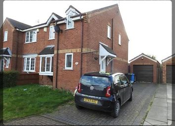 Thumbnail 3 bed semi-detached house to rent in Robinswood Drive, Leadhills Way, Hull