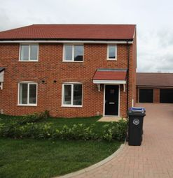 Thumbnail 3 bed semi-detached house to rent in Trinity Wood, West End, Woking