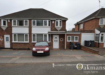 Thumbnail 6 bedroom semi-detached house for sale in Gibbins Road, Birmingham, West Midlands.