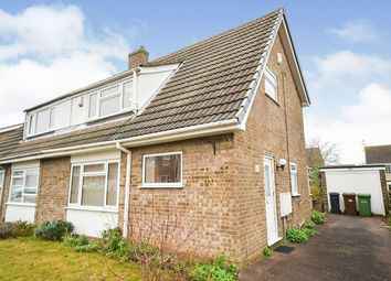 Thumbnail 3 bed semi-detached house for sale in Montaigne Crescent, Lincoln, Lincolnshire