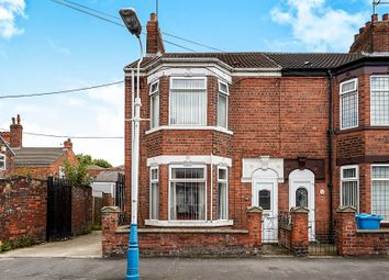 Thumbnail 3 bed end terrace house for sale in Monmouth Street, Hull