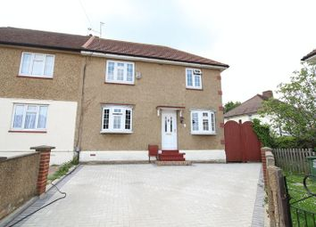 Thumbnail 3 bed semi-detached house for sale in West Heath Close, Crayford, Dartford