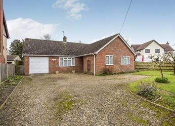 Thumbnail 3 bedroom bungalow for sale in Rockland St. Peter, Attleborough, Norfolk