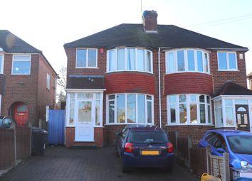Thumbnail 3 bed semi-detached house to rent in Brookmans Avenue, Quinton, Birmingham