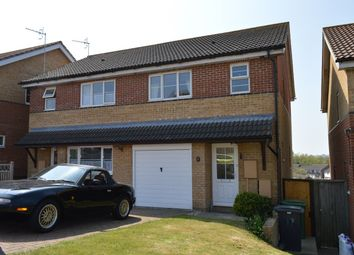 Thumbnail 3 bed semi-detached house to rent in Bunting Close, St Leonards-On-Sea