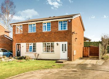 Thumbnail 2 bed semi-detached house for sale in Muirfield Close, Wilmslow