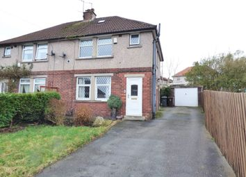 Thumbnail 3 bedroom semi-detached house for sale in Wembley Avenue, Thornton, Bradford