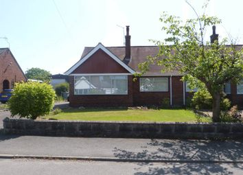 Thumbnail 2 bed semi-detached bungalow to rent in Cornwall Close, Congleton, Cheshire