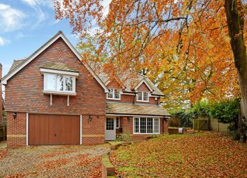 Thumbnail 5 bed detached house for sale in Woodridge, Newbury