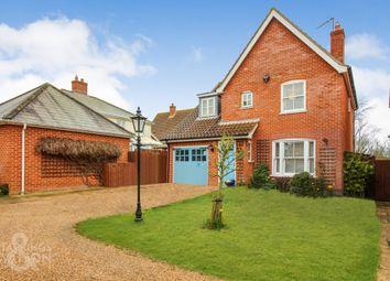 Thumbnail 4 bed detached house for sale in Chatten Close, Wrentham, Beccles