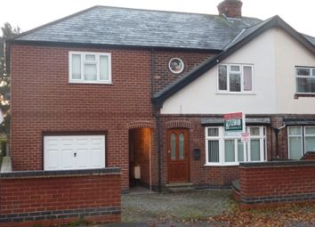 Thumbnail 4 bed semi-detached house for sale in Thoresby Avenue, Gedling, Nottingham