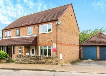 Thumbnail 3 bed semi-detached house for sale in Church Street, Ringstead, Kettering