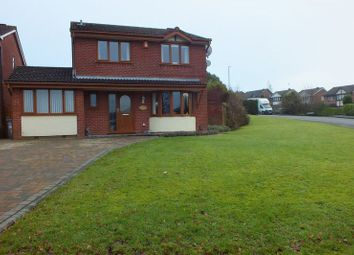 Thumbnail 4 bedroom detached house for sale in Appledore Grove, Packmoor, Stoke-On-Trent