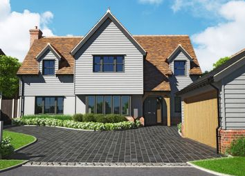 Thumbnail 1 bed detached house for sale in The Meadows, Hare Street, Buntingford
