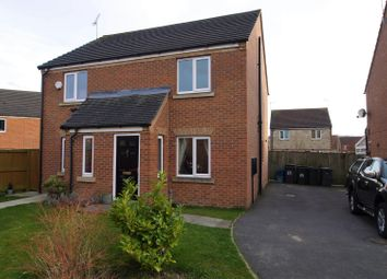 Thumbnail 2 bed semi-detached house for sale in Kensington Close, Laughton Common, Dinnington