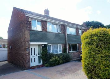 Thumbnail 3 bed semi-detached house for sale in Tenterton Avenue, Southampton