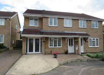 Thumbnail 4 bed semi-detached house for sale in East Rising, Wootton, Northampton