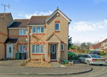 Thumbnail 3 bedroom end terrace house for sale in Portchester Close, Park Farm, Peterborough, Cambridgeshire