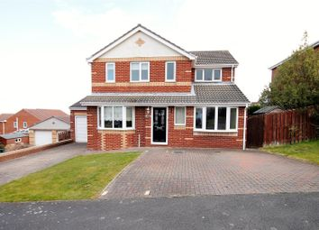 Thumbnail 4 bed detached house for sale in Hill Crest, Sacriston, Durham