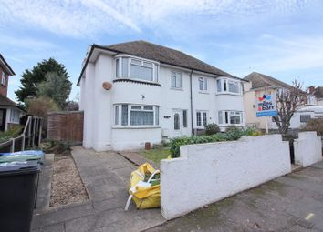 Thumbnail 3 bed semi-detached house for sale in Pegwell Road, Ramsgate