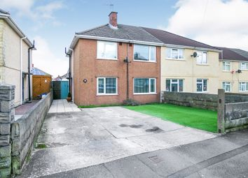 Thumbnail 3 bed semi-detached house for sale in Long Acre, North Cornelly, Bridgend