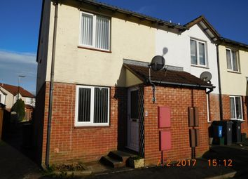 Thumbnail 2 bed terraced house to rent in Argus Close, Honiton