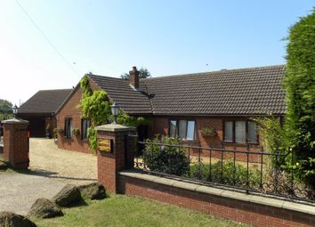 Thumbnail 5 bed detached bungalow for sale in Downham Road, Salters Lode, Downham Market