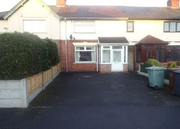 Thumbnail 3 bedroom terraced house to rent in Holford Avenue WS2, Walsall
