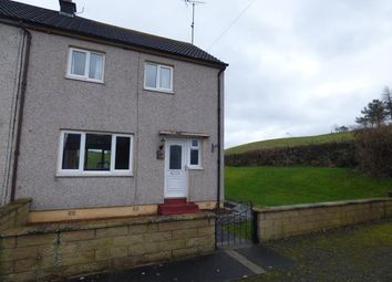 Thumbnail 2 bed end terrace house to rent in Lochend Terrace, Dunscore, Dumfries