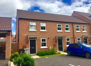 Thumbnail 2 bed end terrace house for sale in Tamworth Close, Grantham