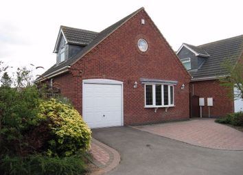 Thumbnail 3 bed detached house for sale in The Springs, Broughton Astley, Leicester