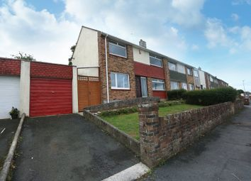 Thumbnail 3 bed semi-detached house for sale in Princess Avenue, Plymstock, Plymouth