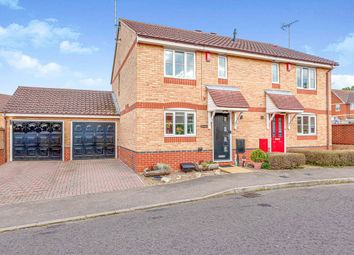 Thumbnail 3 bed semi-detached house for sale in Heron Gardens, Rayleigh