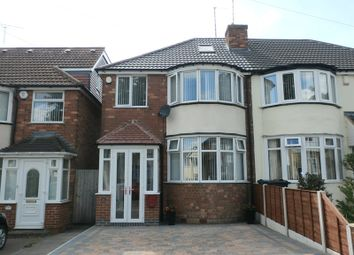 Thumbnail 3 bed semi-detached house for sale in Goldthorne Avenue, Sheldon, Birmingham