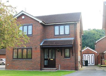 Thumbnail 4 bed detached house to rent in Hollin Close, Rossington, Doncaster