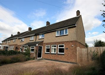 Thumbnail 3 bed end terrace house for sale in Farmclose Road, Wootton, Northampton