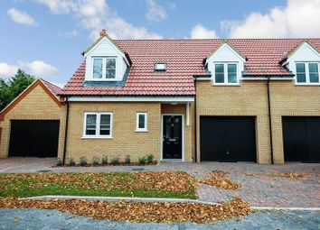 Thumbnail 3 bed semi-detached house to rent in The Lane, Wyboston, Bedford
