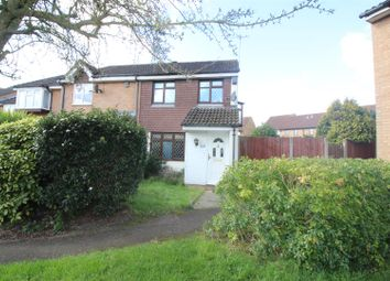 Thumbnail 3 bed end terrace house for sale in Cranleigh Close, West Cheshunt, Herts