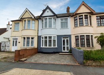Thumbnail 3 bed terraced house for sale in Central Avenue, Southend-On-Sea