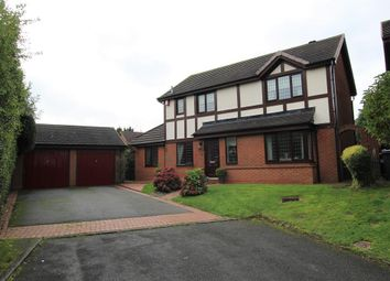 Thumbnail 4 bed detached house for sale in Jones Wood Close, Sutton Coldfield