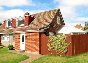 Thumbnail 2 bedroom semi-detached house for sale in Mosswood Crescent, Acklam, Middlesbrough