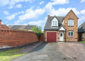 Thumbnail 3 bed detached house for sale in Rufford Close, Loughborough