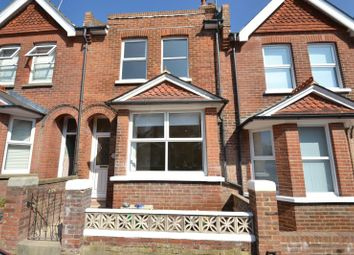 Thumbnail 2 bed terraced house to rent in Greys Road, Eastbourne