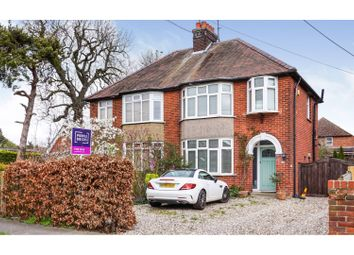 Thumbnail 3 bed semi-detached house for sale in St. Nicholas Road, Witham